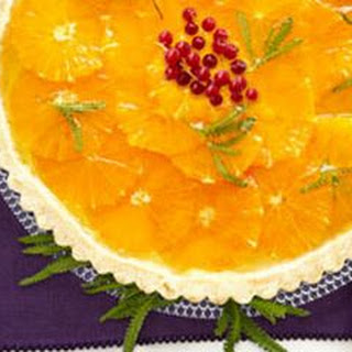 Orange-Custard Tart