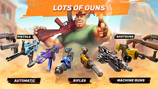 Guns of Boom MOD (Unlimited Ammo) 2