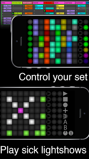 Launch Buttons Plus - Ableton MIDI Controller screenshot