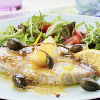 Fish Fillet with Citrus and Salad