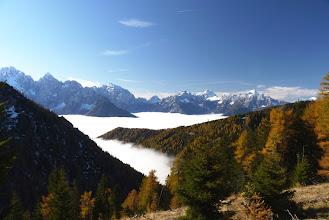 Photo: pogled na Julijske alpe