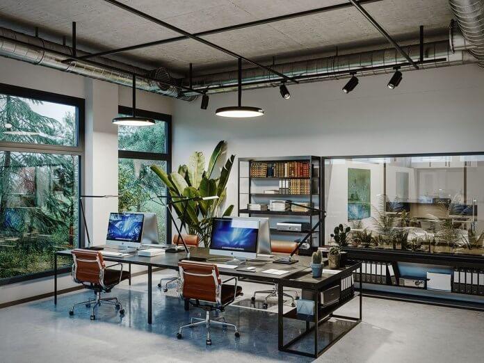 áp dụng ý tưởng feel like house trong thiết kế nội thất văn phòng
