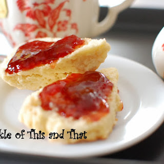Irish Tea Time and Scones
