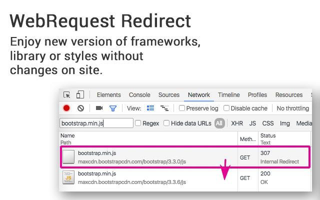 WebRequest Redirect