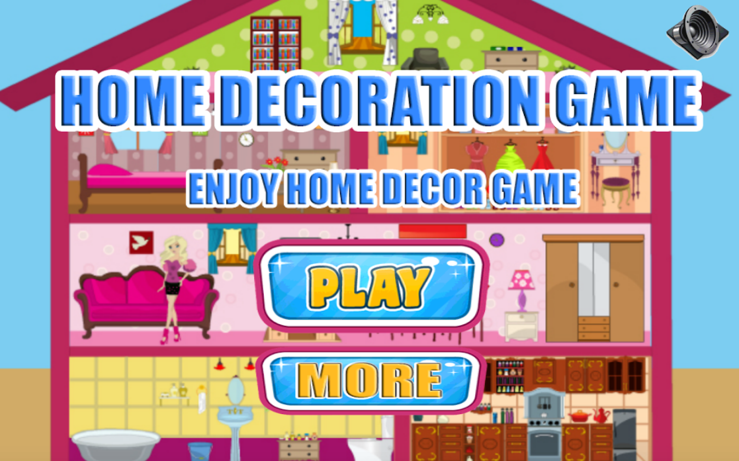 home decoration game screenshot - Home Decor Games