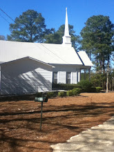 Photo: Church across the dirt road. This will be our neighbor!