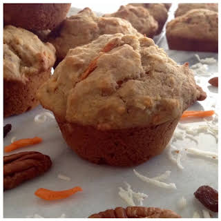 Gluten Free Morning Glory Muffins.