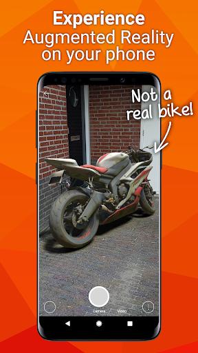 Fectar - Free Augmented Reality (AR) presentation 2.6.0 screenshots 1