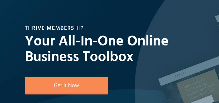 Thrive Theme Membership Benefits
