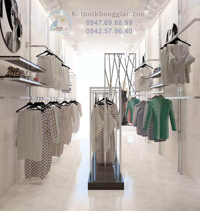 thiết kế shop thời trang nữ chất lượng cao và bền bỉ