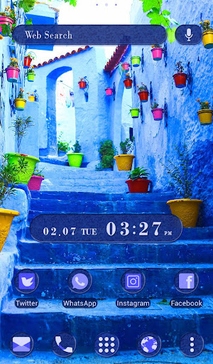 Beautiful Theme Blue Chaouen 1.0.0 Windows u7528 5