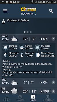 13 WREX Weather Authority