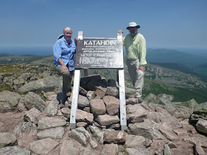 Photo: Standing atop Baxter Peak