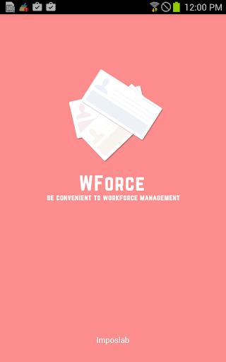 WForce - Workforce Manager
