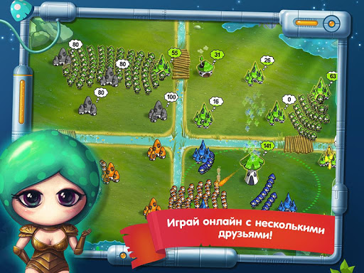 Война Грибов: В Космос! для ВК для планшетов на Android