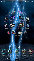 screenshot of Lightning Storm Tech 3D Theme