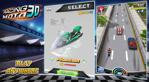 Moto Racing 3D Game 1.1.1 screenshots 4