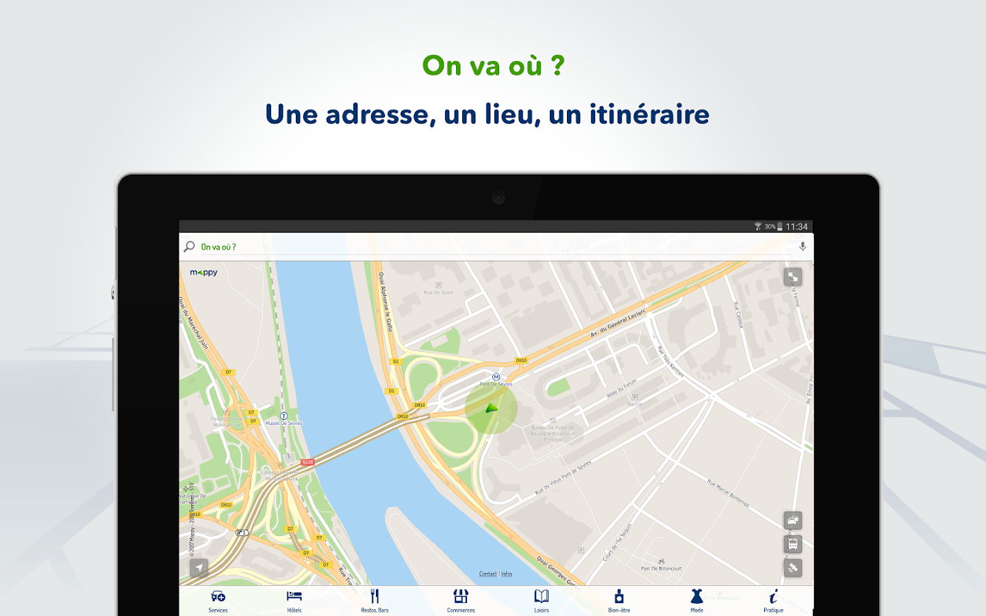 Mappy – Plan, Itinéraire, GPS- screenshot