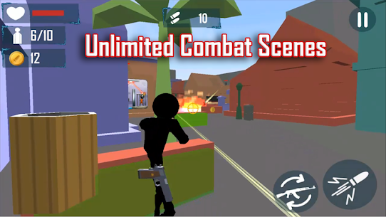 Stickman Cover Fire Shooting MOD Apk 2.5 (Unlimited Lives) 2