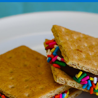 Frozen Protein Pudding Squares.