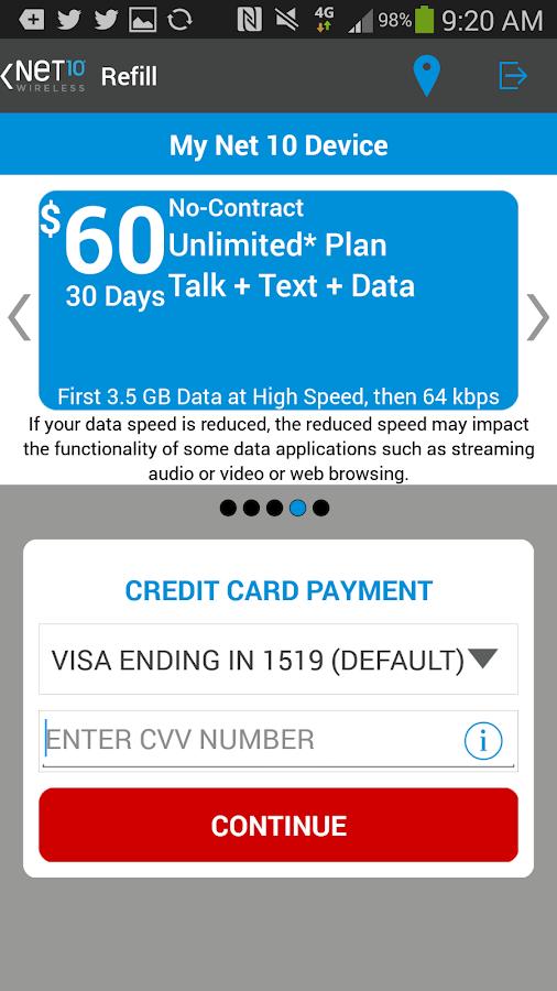 Net10 My Account APK by NeT10 Wireless Details