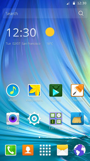 Theme for Samsung Galaxy 1.1.21 screenshots 1