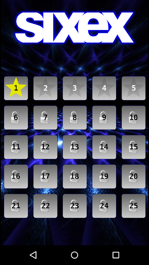 Sixex – Fun Number Puzzle Game- screenshot