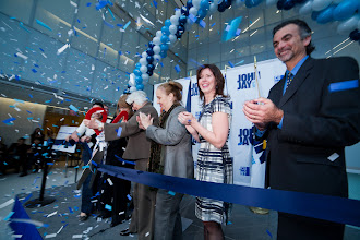 Photo: Nov 30, 2012 John Jay New Science Wing Ribbon Cutting Ceremony.In the Photo from Left to Right: