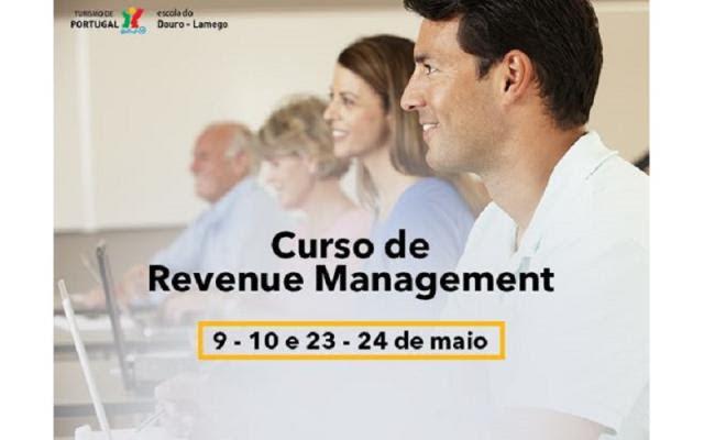Curso de Revenue Management - EHTDouro-Lamego - 9, 10, 23 e 24 de maio de 2018