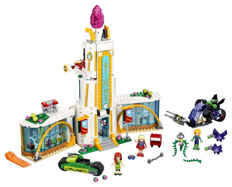 Contenido de Lego® 41232 Escuela Superior de Superhéroes