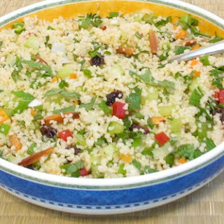 Simple Fruit and Vegetable Couscous Salad – 3 large or 6 small servings
