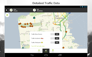 Screenshot of MapQuest GPS Navigation & Maps