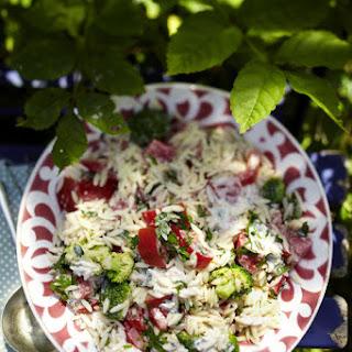 Orzo Pasta Salad.