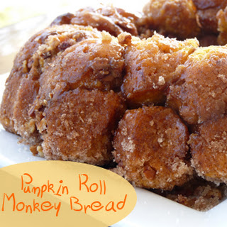 Pumpkin Roll Monkey Bread