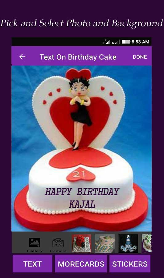 Text On Birthday Cake Android Apper P Google Play