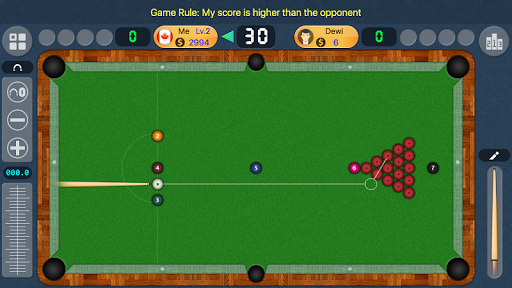 2018 Billiards - Offline & Online Pool / 8 Ball  gameplay | by HackJr.Pw 7