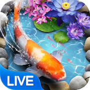 Koi Fish Theme & Lively 3D Ripple Effect