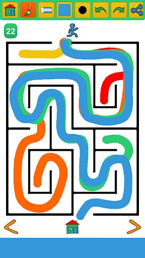 Buku Gambar Labyrinth