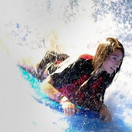 Boardsurfing by Bernard Hunt - Sports & Fitness Watersports ( surf, tubing, surfboard, surfing, watersports, water skiing, surfboarding, water ski, waterboard )