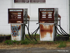 Photo: (Year 2) Day 338 - Petrol Pumps on our Route Today