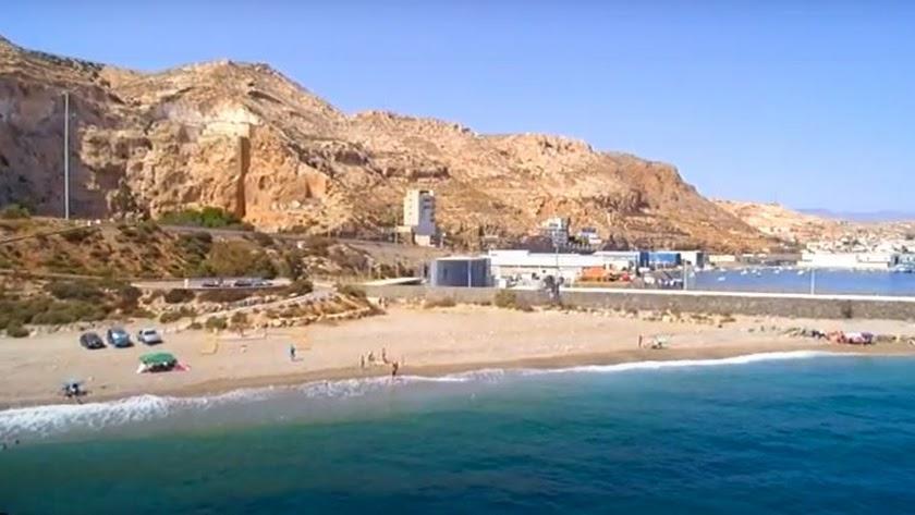 Playa de Las Olas.