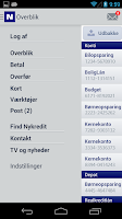 Screenshot of MitNykredit