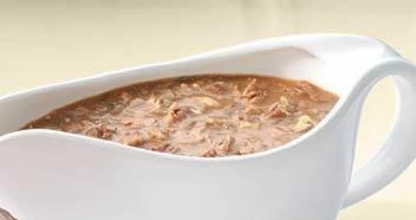 Turkey Mushroom Gravy Recipe