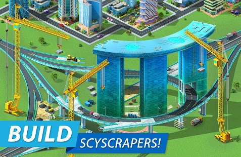 Megapolis: city building simulator. Urban strategy Screenshot