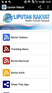 Liputan Rakyat - náhled