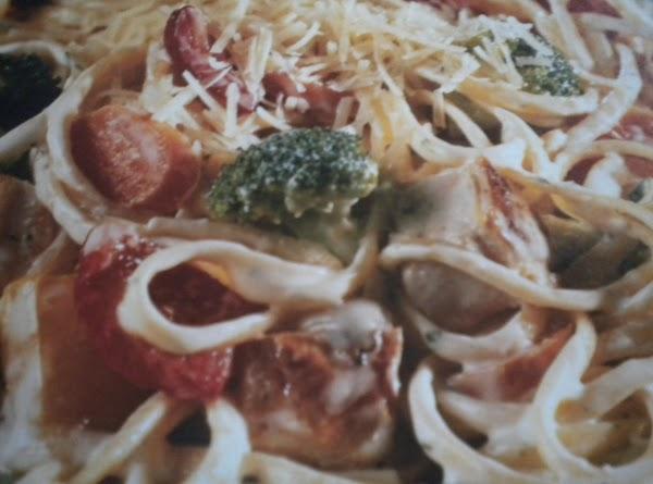 Garden Ranch Linguine With Chicken Recipe