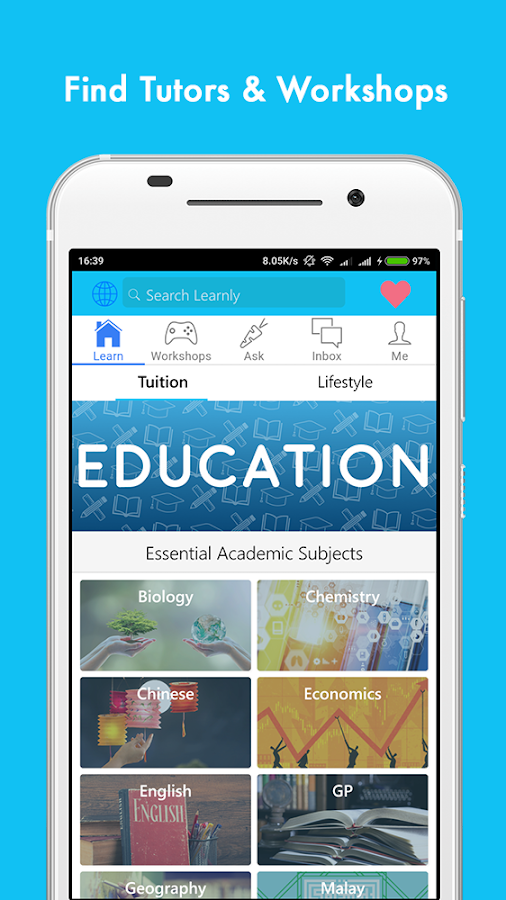 Learnly - Tuition Marketplace- screenshot