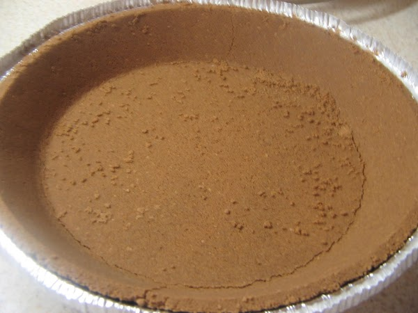Place chocolate  cookie crust in freezer while making filling.