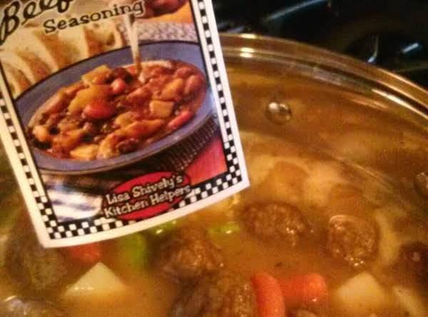 Beef Meatball Stew Recipe