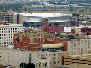 Photo: The new Pinnacle Bank Arena in the Haymarket. Holding 15,000, it's the new home of Nebraska's college basketball team.